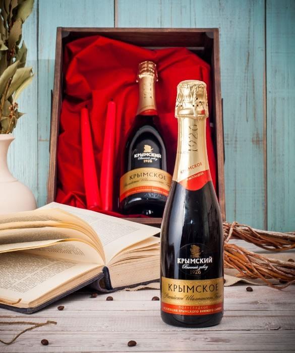mini champagne - Мини-Шампанское «Крымское»