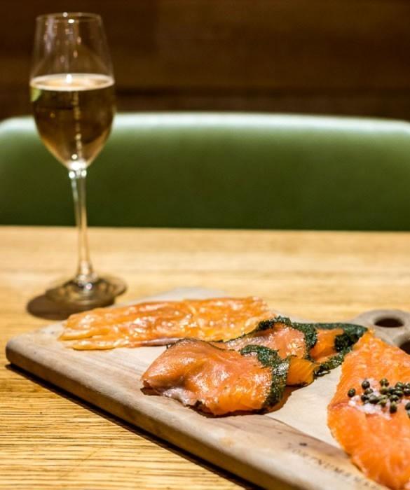 Игристое вино к рыбным блюдам