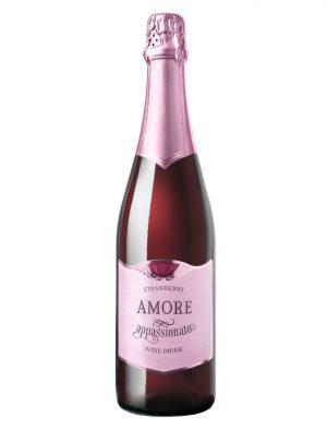 Винный газированный напиток «Amoea Appassionato Strawberry»