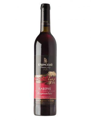 Вино - Каберне Красное Полусладкое