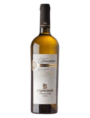 «Крымское Эксклюзивное» Сухое Белое вино