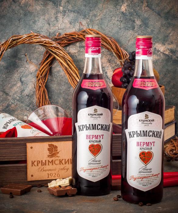 Крымский Красный Вермут Аморе Аппассионато