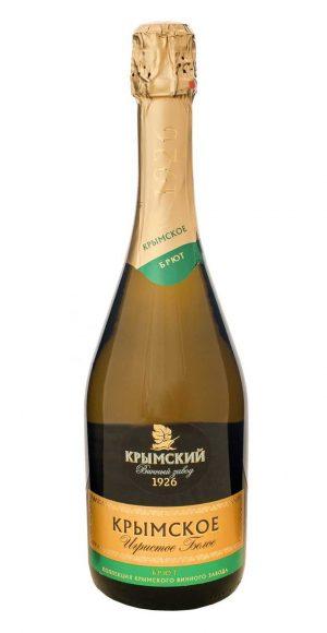 wvzeeowxg54 e1605263983947 300x580 - Вино Игристое «Крымское»  Брют